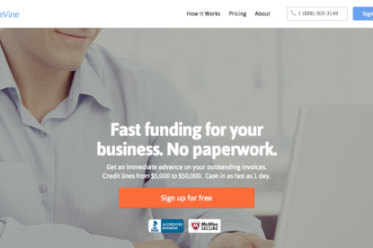 BlueVine Raises Million For Invoice Financing - Invoice financing for small business