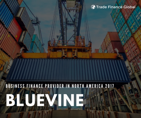 BlueVine named Best Business Finance Provider in North America