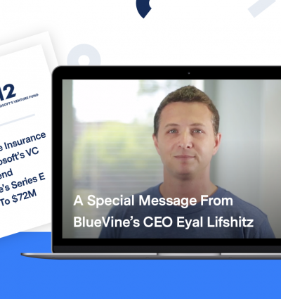 BlueVine CEO Eyal Lifshitz: 'We look forward to growing together.'