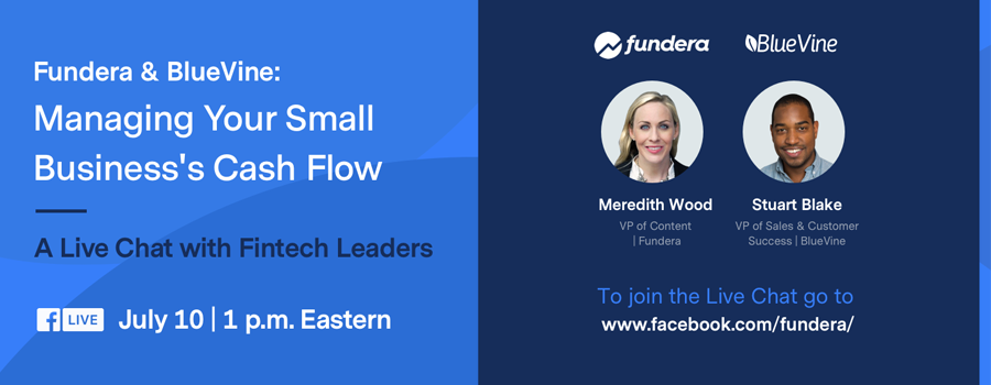 All About Cash Flow: Fundera & BlueVine Live Chat